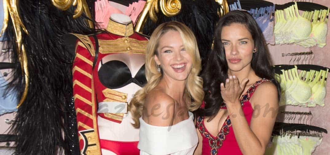 Adriana Lima y Candice Swanepoel anuncian que el próximo show de «Victoria's Secret» se celebrará en Londres