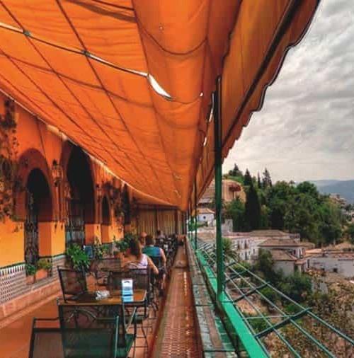 El espacio más glamouroso de Granada