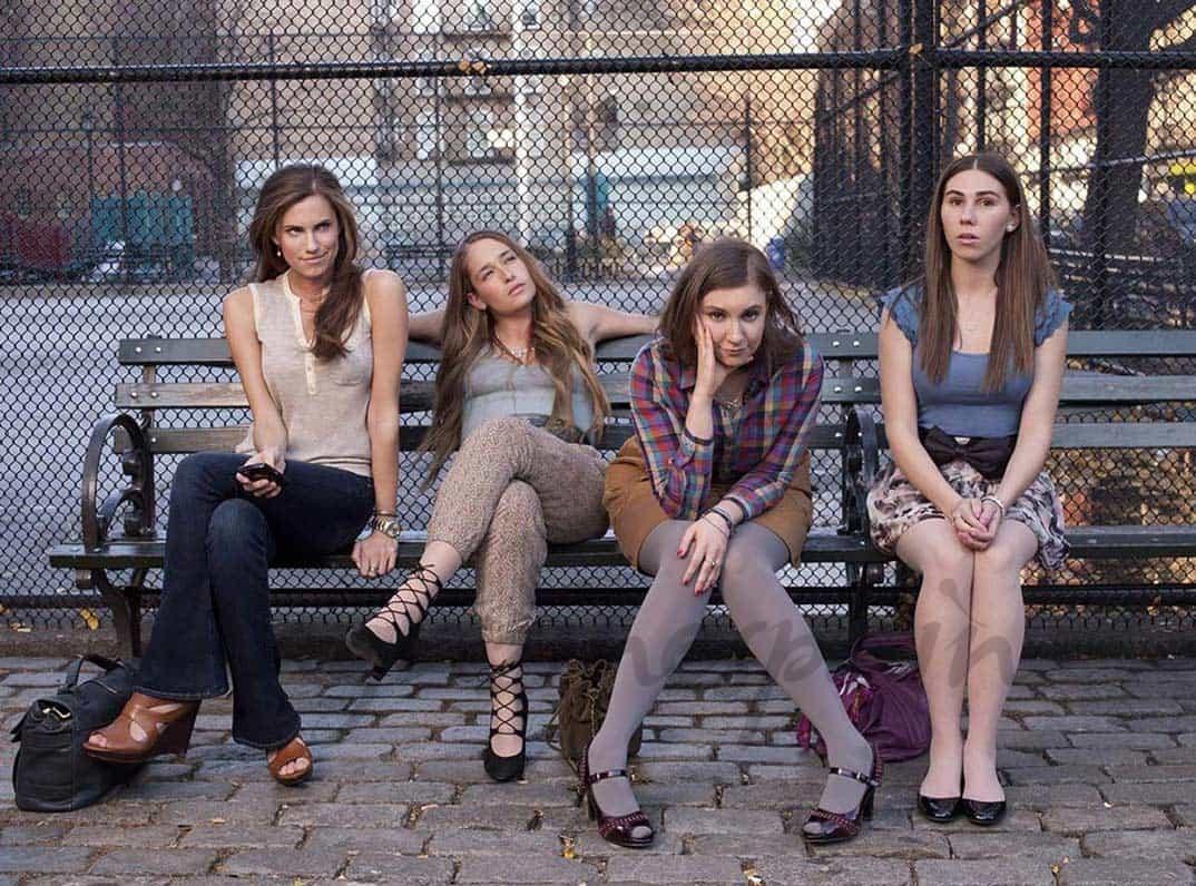 "Allison Williams, Jemima Kirke, Lena Dunham y Zosia Mamet - ""Girls"" - © HBO"
