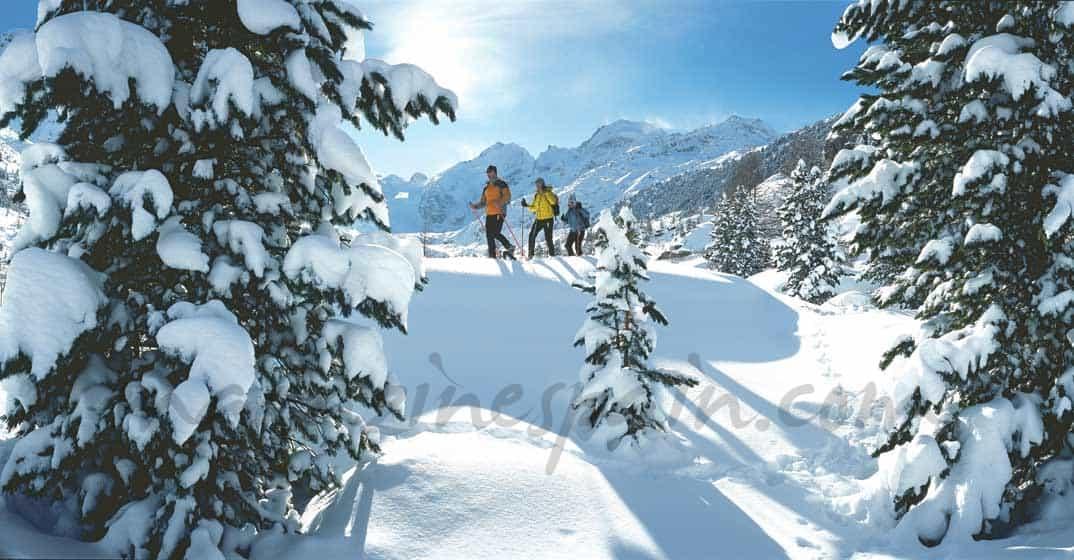 Esquí de cinco estrellas en los Alpes Suizos
