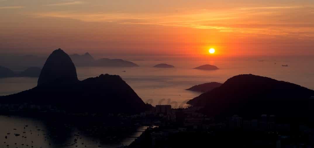 Amanecer en Río de Janerio