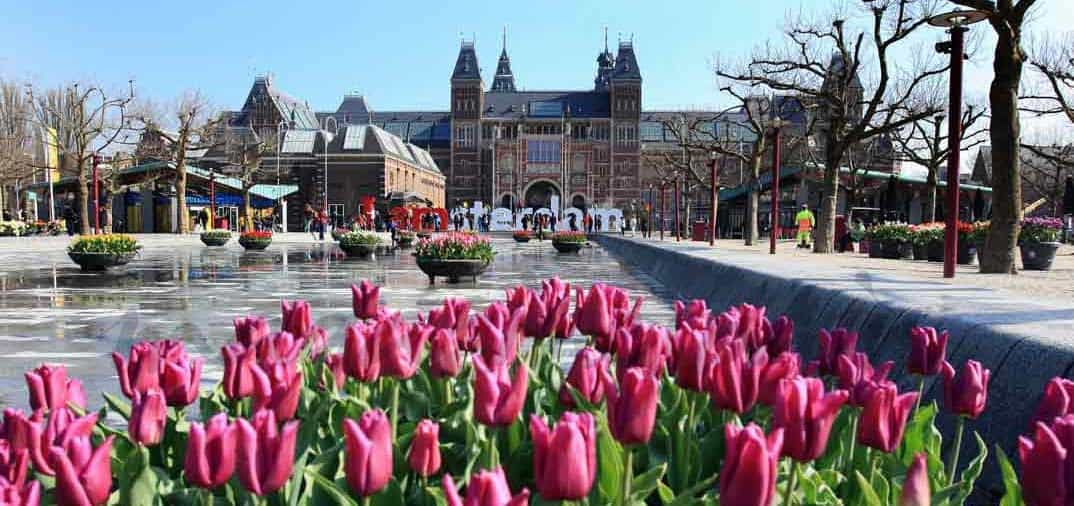La bicicleta, ideal para un fin de semana en Ámsterdam