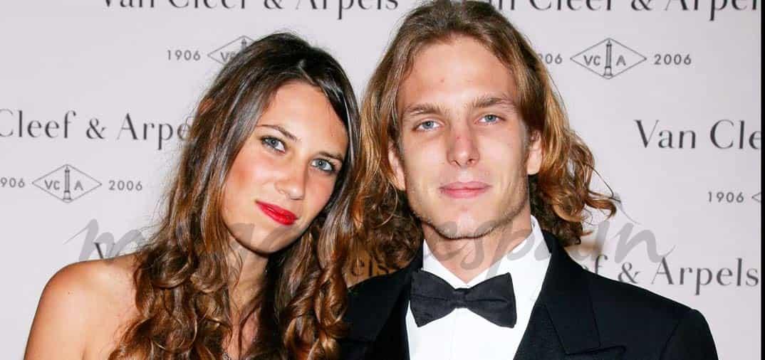 Andrea Casiraghi y Tatiana Santo Domingo esperan su segundo hijo