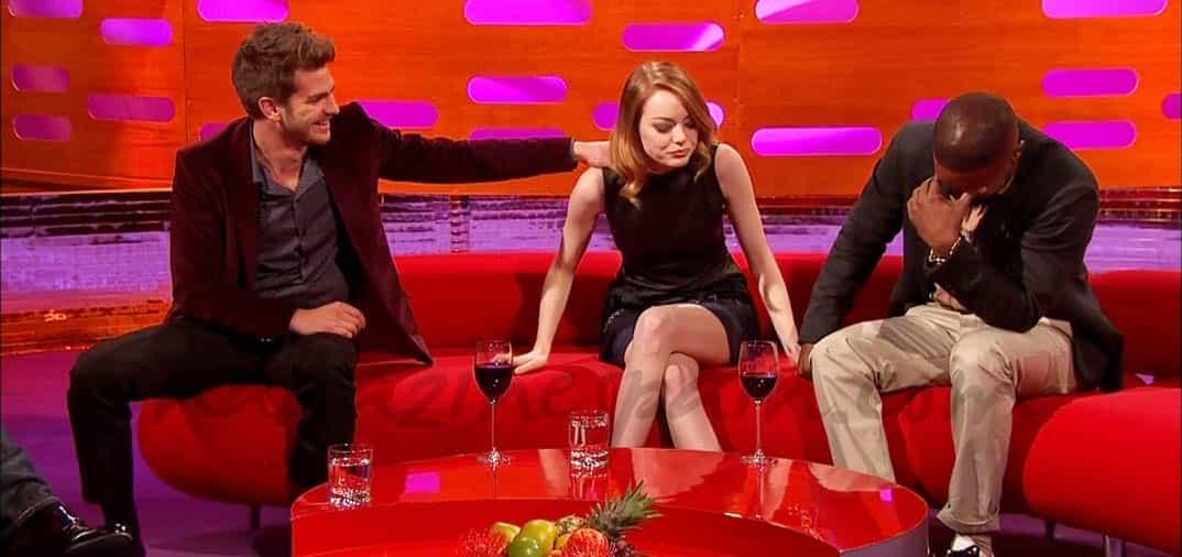 Andrew Garfield y Emma Stone, siempre juntos
