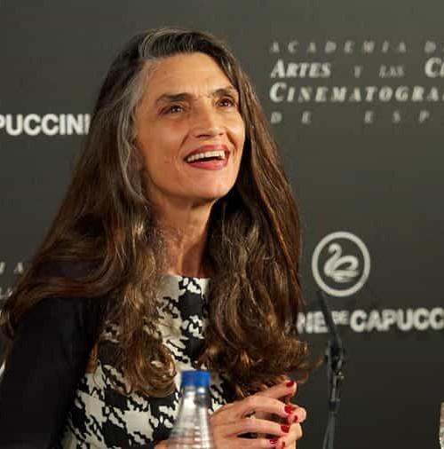 Ángela Molina, medalla de oro de la Academia de Cine