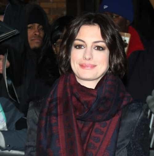 Anne Hathaway crea su propio estilo