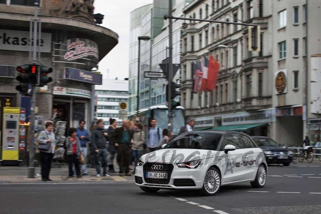 Audi A1 e-tron: movilidad urbana inteligente