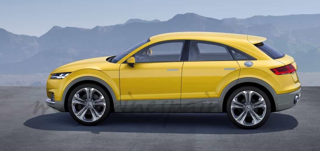Audi presenta el híbrido, «TT Offroad Concept»