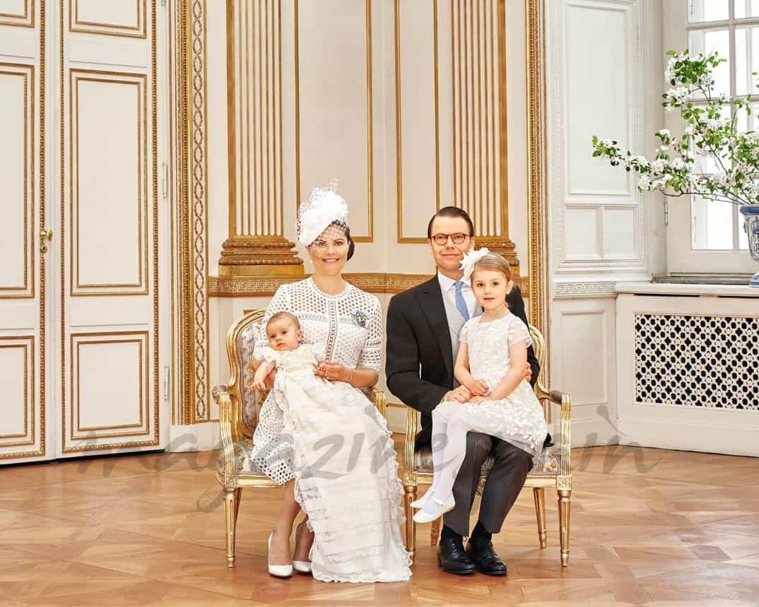 Bautizo Óscar de Suecia - Fotos Oficiales