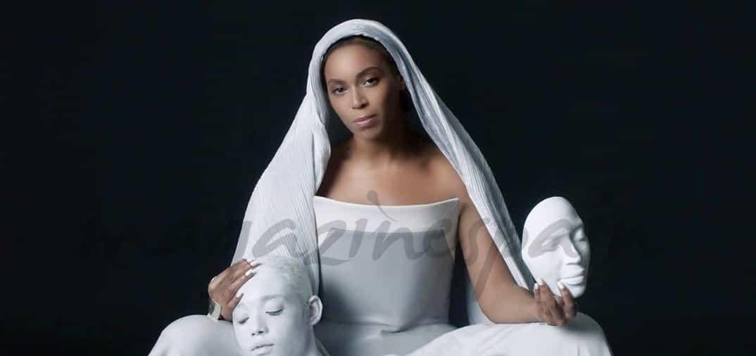 Beyoncé como una virgen en su último videoclip