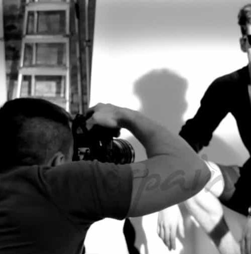 Un shooting de moda, por Fran Larrañaga