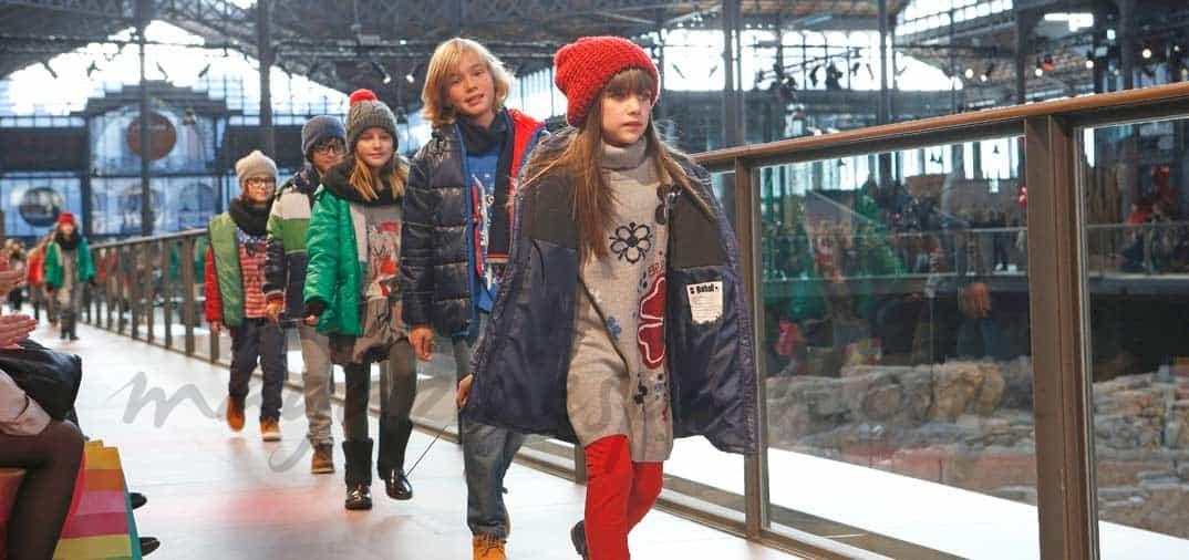 Los niños protagonistas de Barcelona 080 Fashion