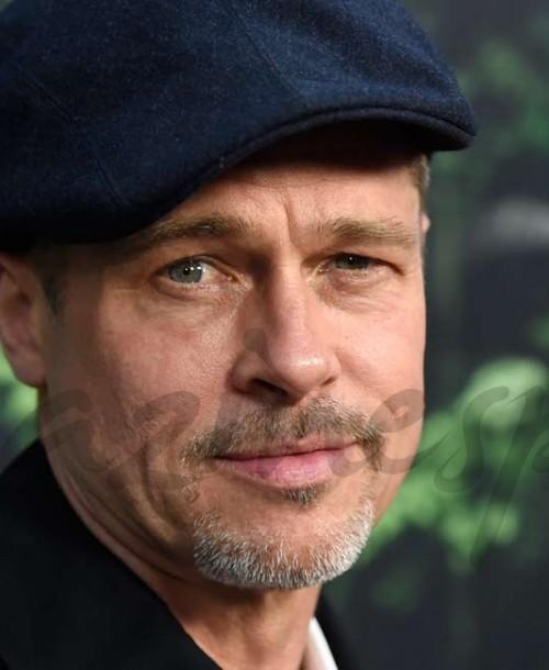 """Brad Pitt un guapo """"mohicano"""""""