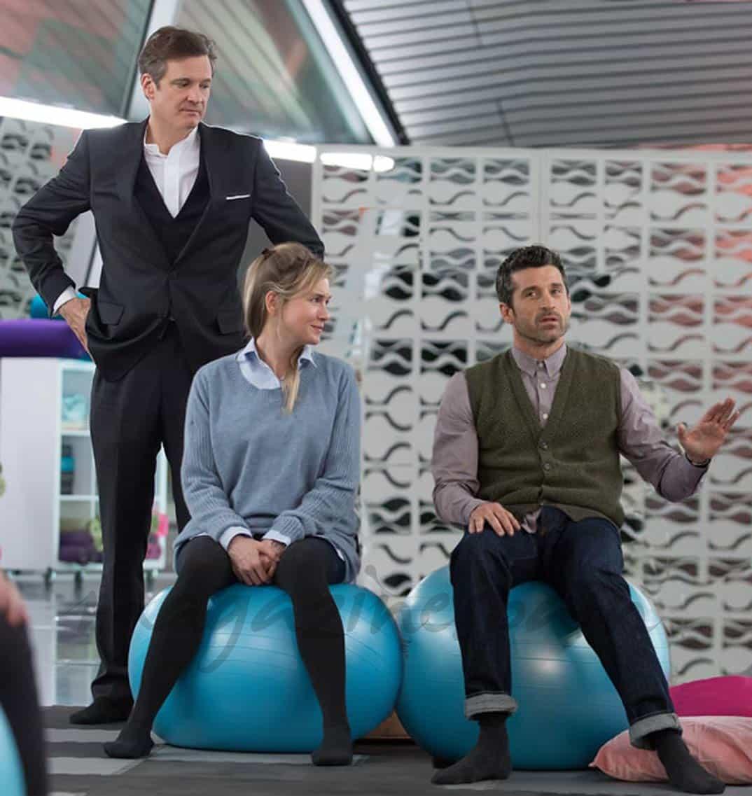 Renee Zellweger, Colin Firth y Patrick Dempsey- Bridget Jones Baby (2016)