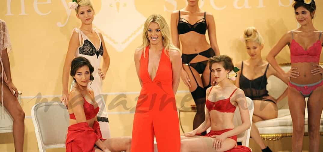 Britiney Spears, crea su propia marca de lencería