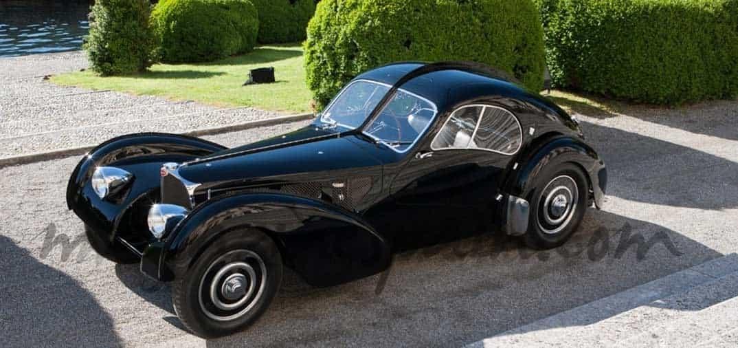 """""""Bugatti 57 SC Atlantique"""", de 1.938…"""