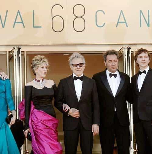 """El glamour de Cannes y sus """"guardaespaldas""""…"""