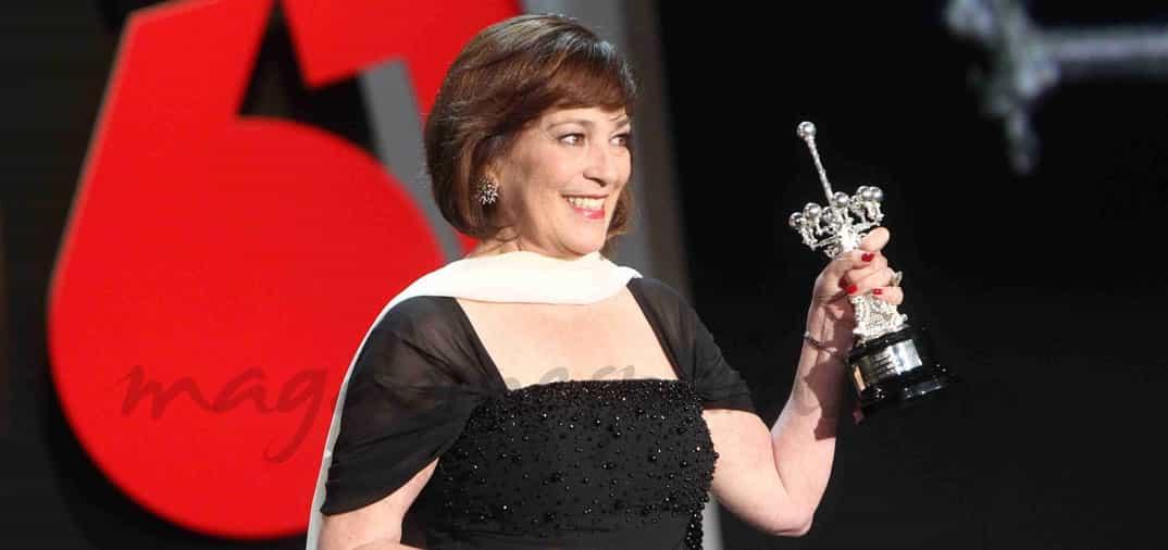 La primera actriz española que lo consigue … Carmen Maura