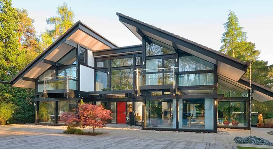 Casa Antonio Banderas y Nicole Kimpel en Surrey, al sur de Inglaterra,