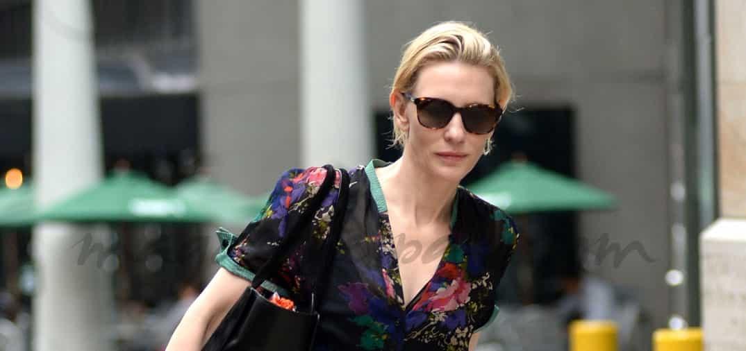 Cate Blanchett sin vacaciones