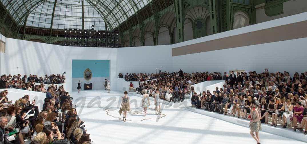 Karl Lagerfeld y Chanel en París