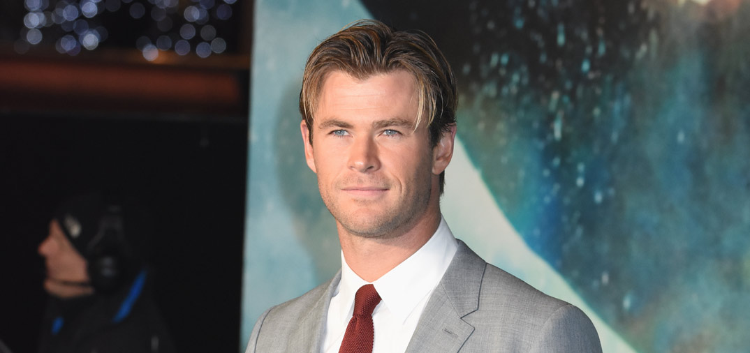 Chris Hemsworth el más sexy del mundo
