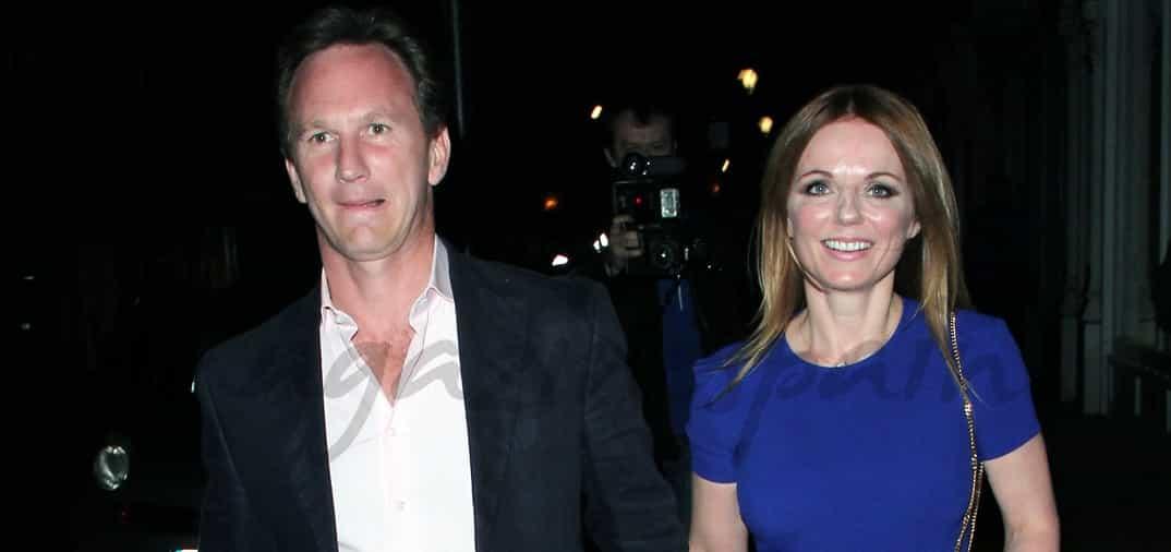 Christian Horner y Geri Halliwell anuncian oficialmente su compromiso