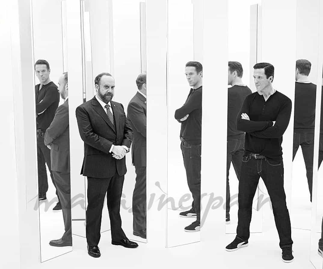 "Damian Lewis y Paul Giamatti - ""Billions"""