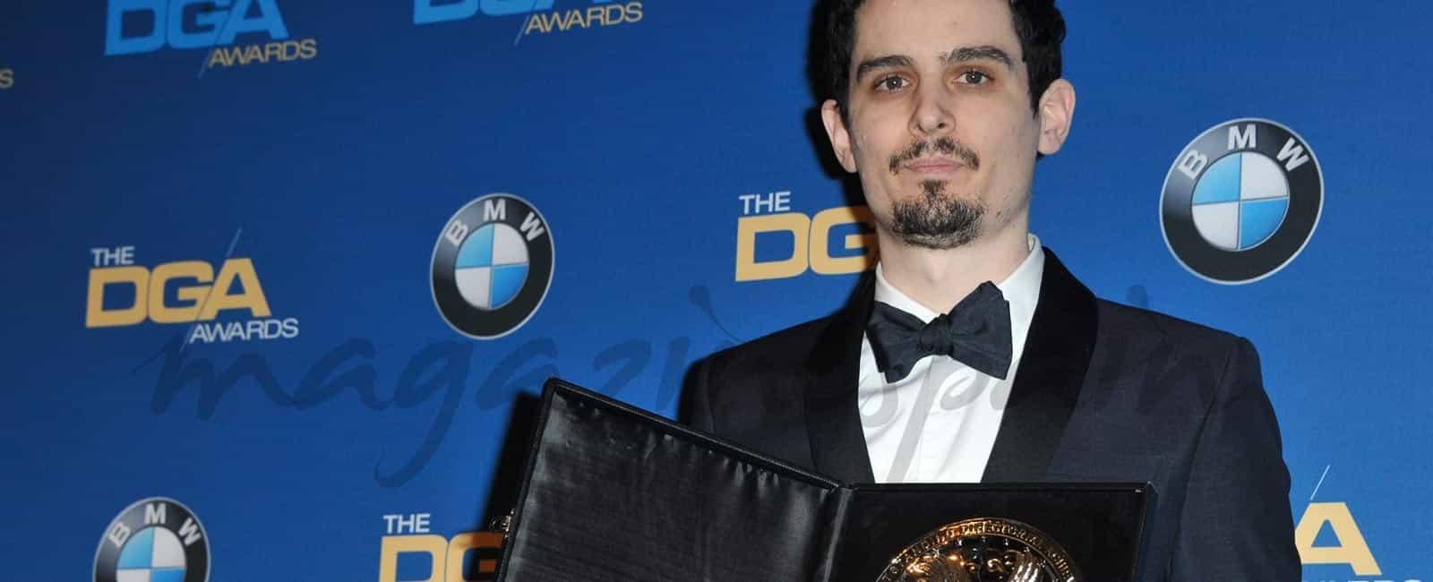 Los directores de Hollywood premian a Damien Chazelle (La la Land)