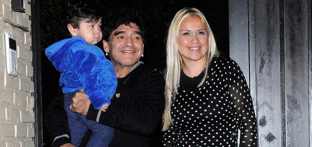 Maradona demanda a su ex novia y es detenida en Dubái