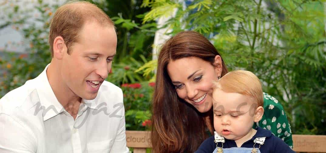 El hijo de los Duques de Cambridge, cumple un año