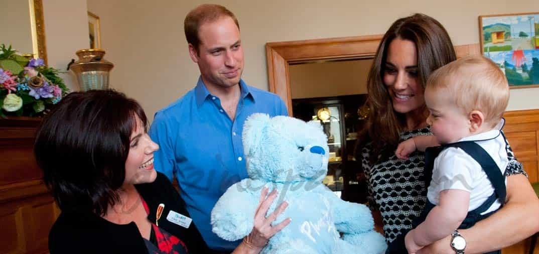 Las imágenes más simpáticas del príncipe George