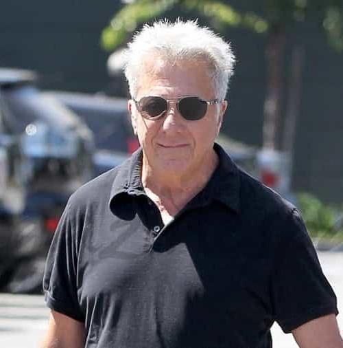 Dustin Hoffman ejerce de abuelo