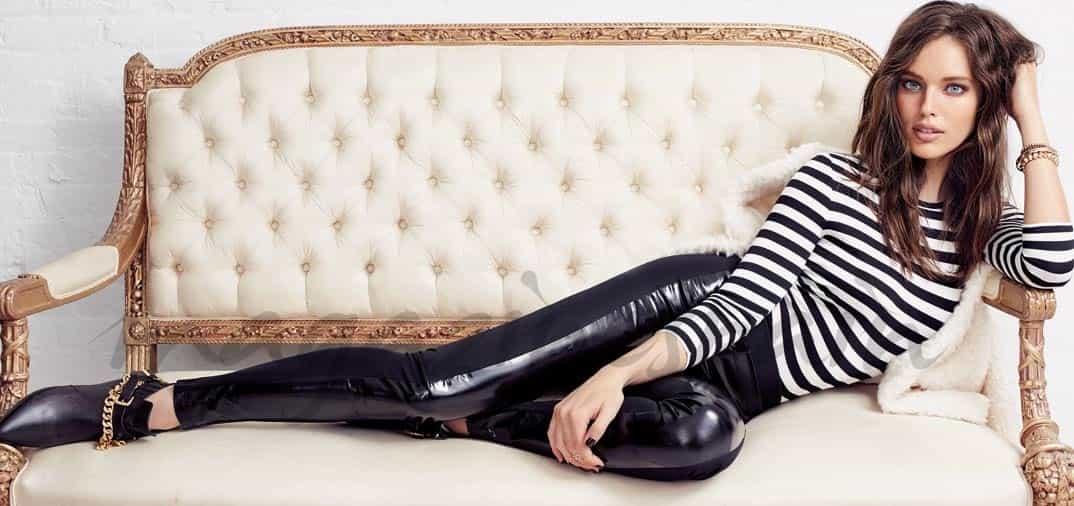 Emily Di Donato se pone los leggings