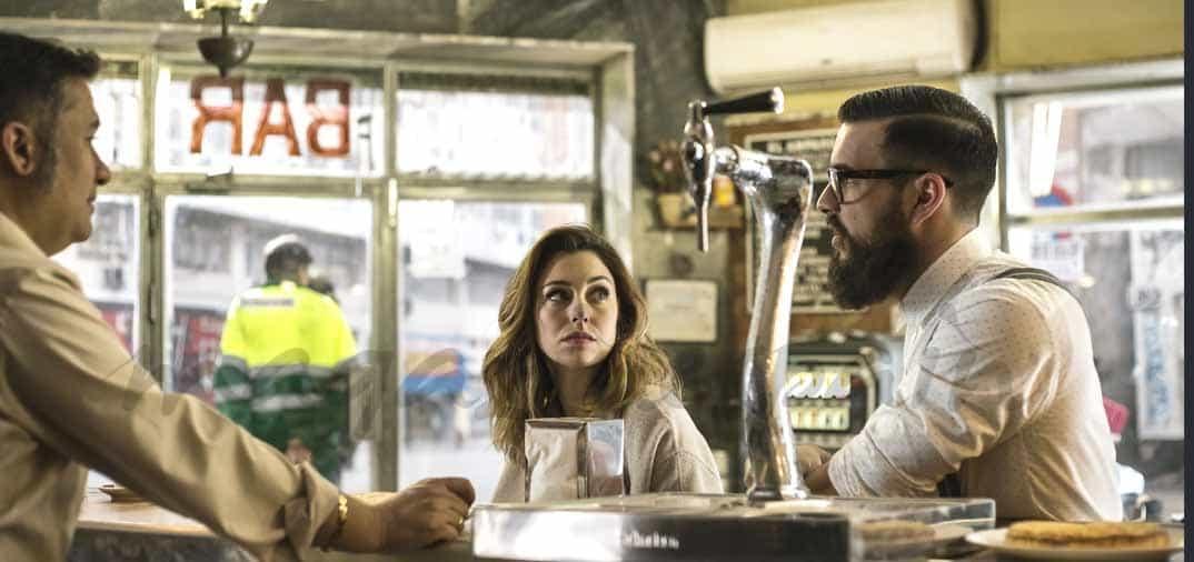 Blanca Suárez y Mario Casas, primeras imágenes en «El Bar»