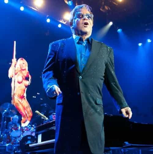 Sir Elton John, esta noche en Girona