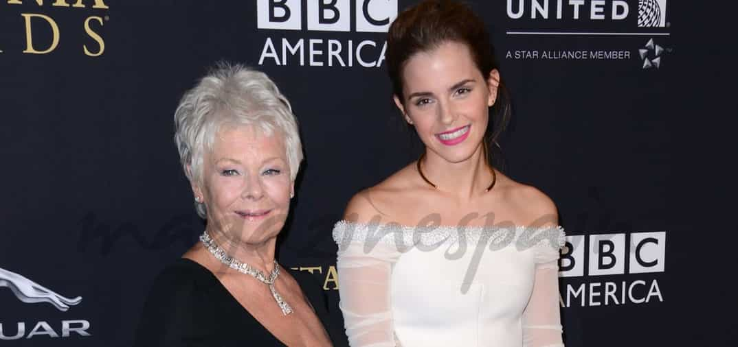 Emma Watson y Judi Dench dos generaciones de actrices
