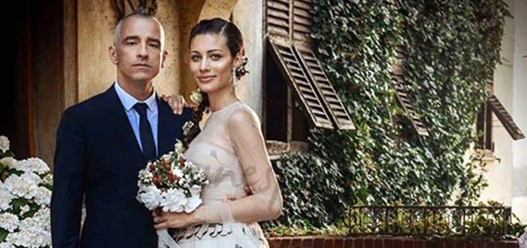 Eros Ramazzotti celebra su boda