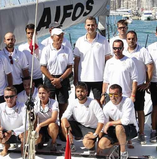 Felipe VI, en la 33 Copa del Rey Mapfre