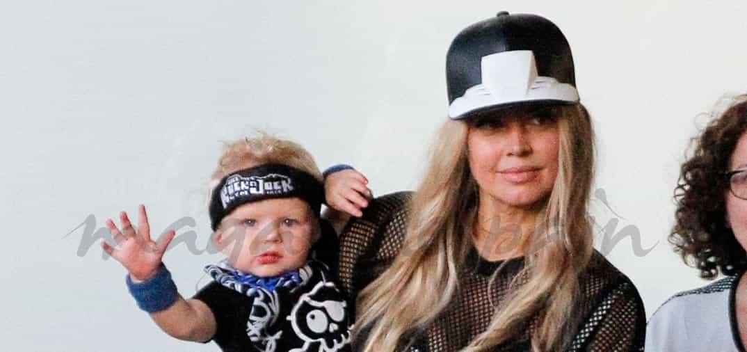Fergie y Josh Duhamel: una familia estilo rock & roll