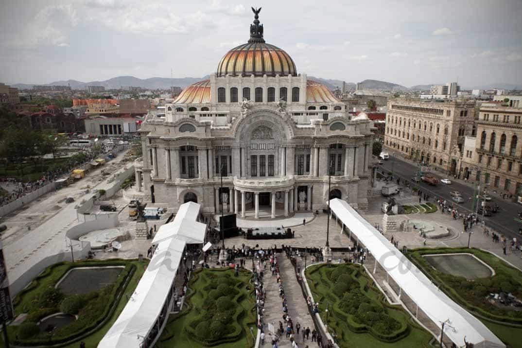 Palacio de las Bellas Artes en México