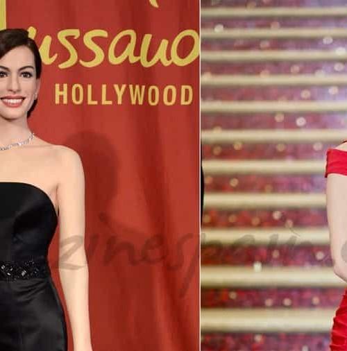Sandra Bullock y Anne Hathaway de cera