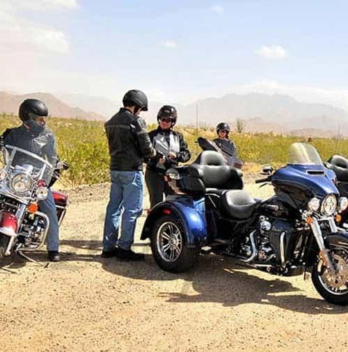 """La """"exclusiva"""" Harley-Davidson, """"Tri Glide Ultra Classic"""""""