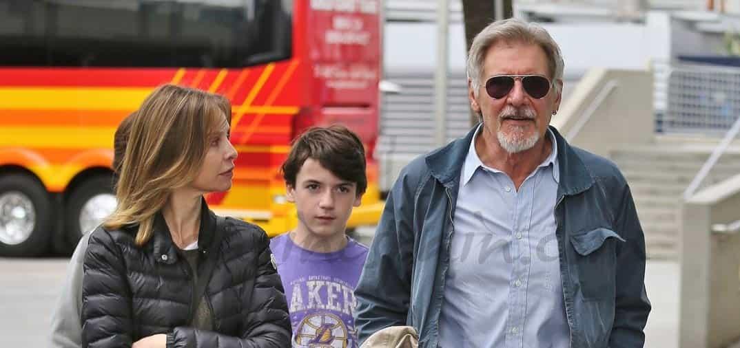 Harrison Ford y Calista Flockhart 4 años juntos