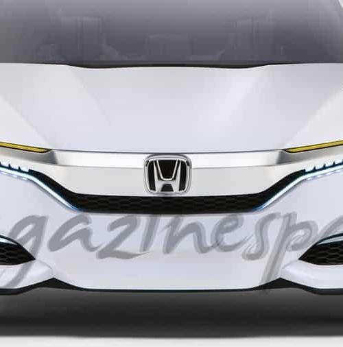 Nuevo Honda FCV Concept, de pila de combustible