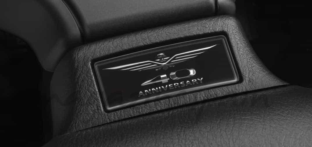 Honda Gold Wing F6B 40 aniversario