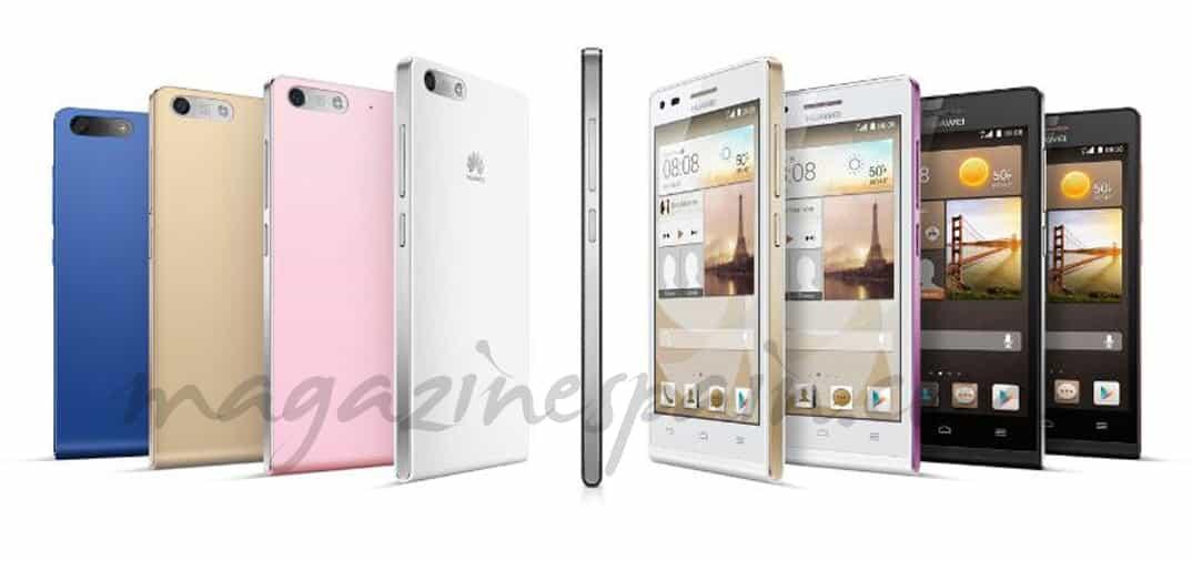 Huawei Ascend P7 compite con Apple y Samsung