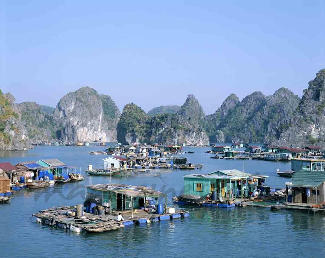 Cabañas de pescadores