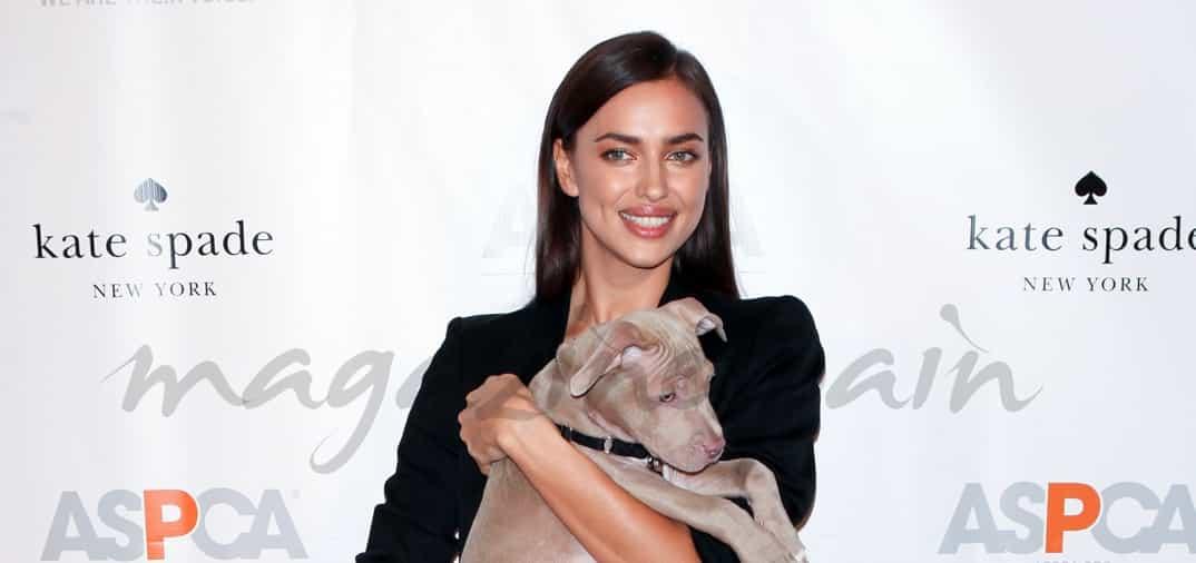 Irina Shayk, solidaria con los animales