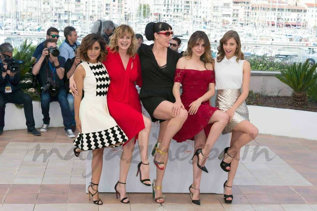 Inma Cuesta, Emma Suarez, Rossy de Palma, Adriana Ugarte y Michelle Jenner